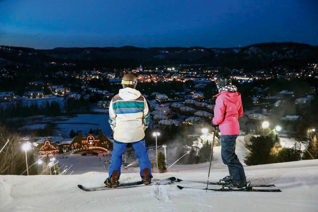 Wisata Ski Es Menarik di Kawasan Gunung Mont Saint Sauveur