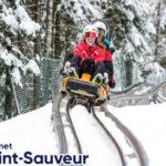 Sensasi Naik Roller Coaster di Gunung Saat Musim Dingin